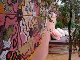 best outdoor garden wall murals ideas with hd desktop backgrounds