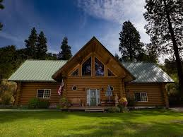 2 story log home nestled on a mountain side vrbo