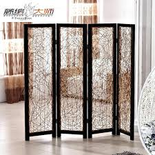 curtains for room dividers 8 foot tall four panel woven rattan