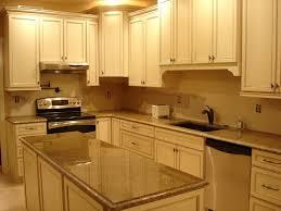 cream kitchen cabinets with glaze kitchen designs