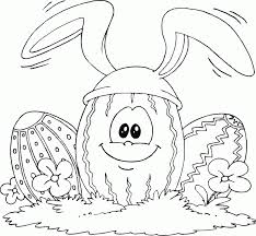 bunny ears coloring page easter egg wearing bunny ears coloring pages printable