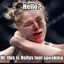 Hello Meme - 31 best memes of ronda rousey knocked out by holly holm sportige