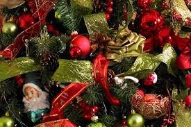 Christmas Tree Ribbon Decorating Everything Flowers At