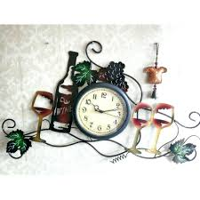 large metal wall art clocks best 25 large wall clocks ideas on