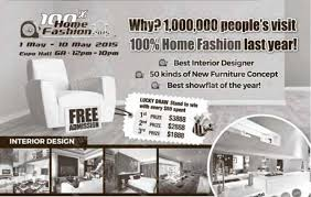 Home Design And Furniture Fair 2015 100 Home Fashion Show Expo 1 10 May 2015 Bq Sg Bargainqueen