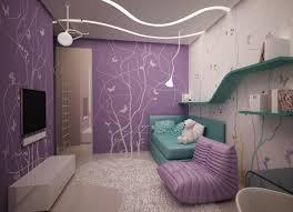 wand gestaltung mdchen kinderzimmer wandgestaltung jugendzimmer mädchen lila wandfarbe schablone