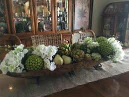 Dining Room Romantic Table Decoration With Small Pumpkins Ideas - Dining room table decorations for summer