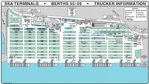 Oakland Ca Map Details Of Pasha Hawaii U0027s Oakland Terminal Ports America