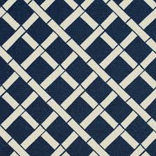 indigo blue and white bamboo print upholstery fabric upholstery
