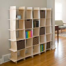 Stylish Office Stylish Office Home Modern With Wood Shelves Contemporary Storage