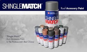 gaf shingle match roof accessory paint