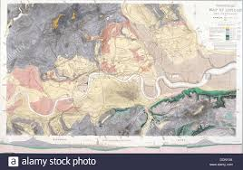 map of areas and surrounding areas geological map of and the surrounding area 1871 artist t