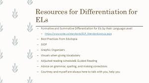 Widaus by Supporting Your Els English Learners English Language