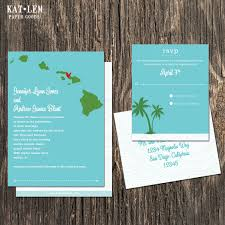 wedding invitations island hawaii wedding invitation destination wedding invitation