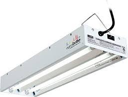 2 foot fluorescent light fixture amazon com agrobrite flt22 t5 fluorescent grow light system 2