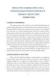 main project doument
