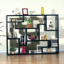 Open Shelving Unit by Room Divider Glass Open Shelving Unit Diy With Shelves Imanada