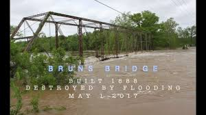 Flooding Missouri Map Bruns Bridge Destroyed By 2017 Missouri Flood 4k Youtube