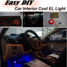 altezza car inside car atmosphere light flexible neon light el wire interior light