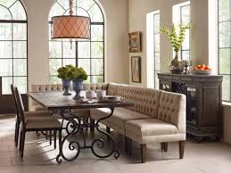 plain design dining room banquette seating cool kincaid furniture