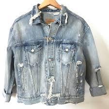 Denim And Supply Jacket Nwt Denim Supply Ralph Lauren Women U0027s Distressed Trucker Jean