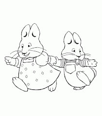 max and ruby thanksgiving coloring pages coloring pages