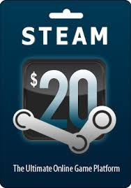 steam gift card online valve steam gift card 20 wallet code emailed worldwide