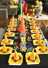 construction birthday party construction birthday party ideas home party ideas