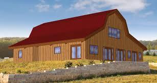gambrel homes pre designed wood barn home horse barns gambrel kits sand creek