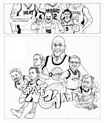 space jam coloring page throughout pages omeletta me