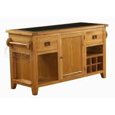 kitchen island oak vancouver premium solid oak granite top kitchen island unit home
