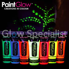 glow in paint glow in the paint set of 6 glow specialist