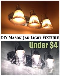 do it yourself light fixture two it yourself diy mason jar light fixture on the cheap