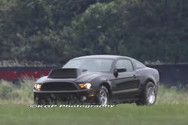 ford mustang scoops photos generation cobra jet testing with