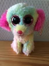 ty beanie boos lovesy dog justice exclusive ebay