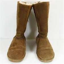 bearpaw womens boots size 11 suede pull on comfort boots bearpaw for ebay