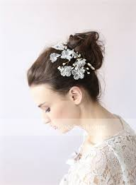 headdress for wedding high quality handmade comb bridal hair accessories lace