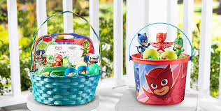 painted easter buckets build your own pj masks easter basket party city