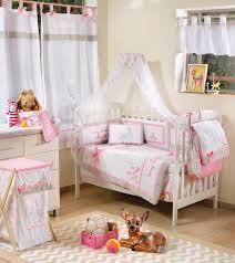 crib bedding sets girls the peanut shell baby crib bedding set pink and white lively