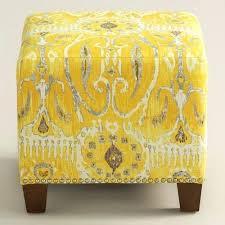 Mustard Yellow Ottoman Yellow Tufted Ottoman Ottomans Yellow Ottoman Yellow Entryway