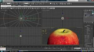 3d Max by Modeling With 3ds Max Modeling An Apple Youtube