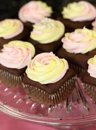 square cupcakes how to make two toned frosting the prepared pantry gourmet