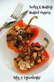 turkey and stuffed peppers what to do with leftover