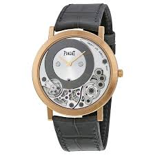 piaget altiplano piaget altiplano silver and black skeleton 18kt gold