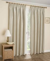 Terracotta Curtains Ready Made by Pencil Pleat Curtains