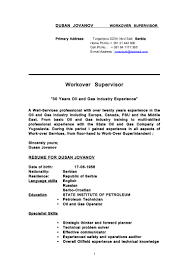 Sample Resume For Oil And Gas Industry by Resume For Oil And Gas Industry Virtren Com