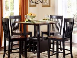 counter height kitchen table sets with rolling chairs elegant