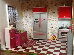 Dollhouse Kitchen Furniture by 74 Best Barbie Kitchen Images On Pinterest Dollhouse Ideas