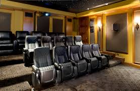 best home theater design and installation with interior home trend
