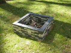Granite Fire Pit by Granite Capped Fire Pit Firepit Pinterest Fire Pits Fire